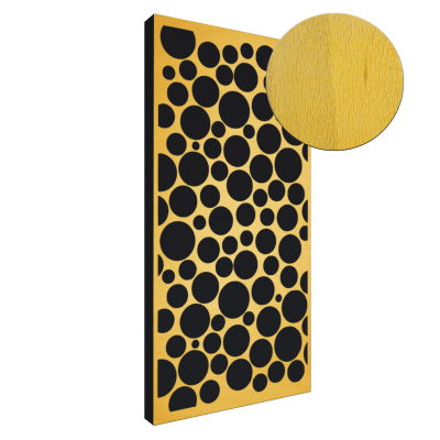 AbFuser Dots WOOD 100x50 6 CM