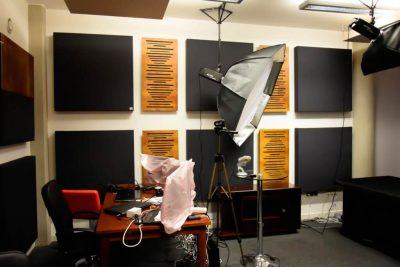 adaptacja akustyczna pomieszczenia w Pomorskim Parku Naukowo