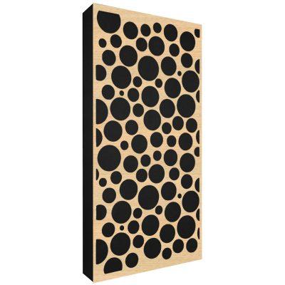 AbFuser Dots WOOD 100x50 11 CM