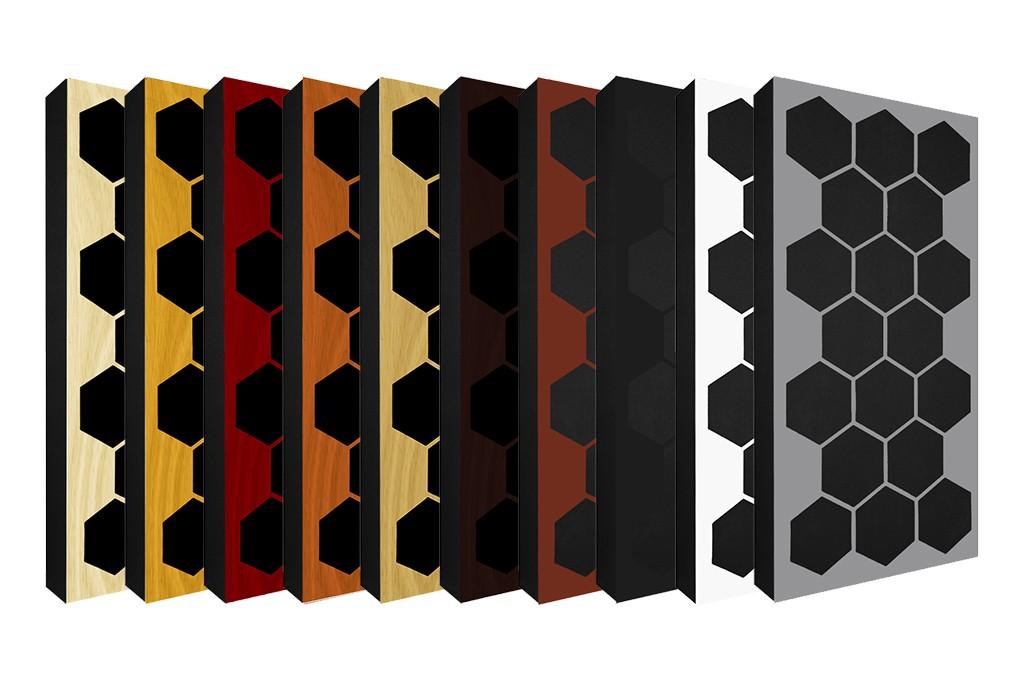 AbFuser Hexagon WOOD 100x50 11 CM
