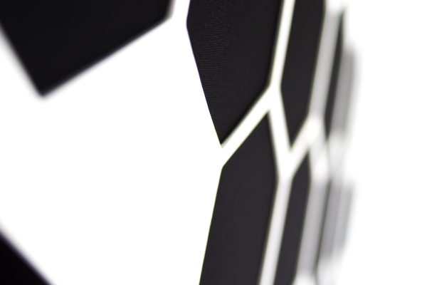 AbFuser Hexagon WOOD 100x50 6 CM